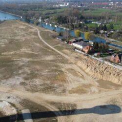 Gelände der zukünftigen Wasserstadt