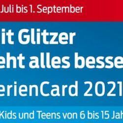 Verkauf der FerienCard 2021 wurde am 14. Juni gestartet