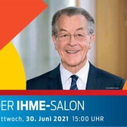 Franz Müntefering zu Gast beim KSH im Ihme-Salon
