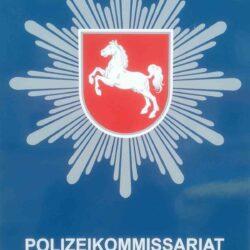 Hinweisschild Polizeikommissariat Limmer