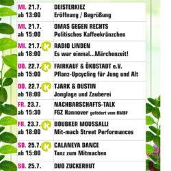 Programm Deisterstraße