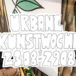 Urbane Kunstwoche 2021 Logo