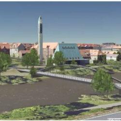 Neubau Dornröschenbrücke Vorzugsvariante