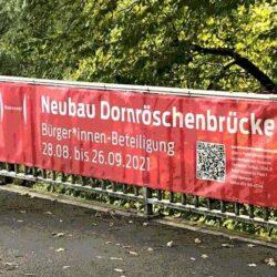 Befragungsergebnisse zum Neubau der Dornröschenbrücke liegen vor