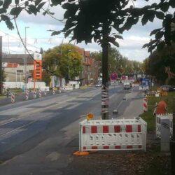 Baustelle Badenstedter Strasse